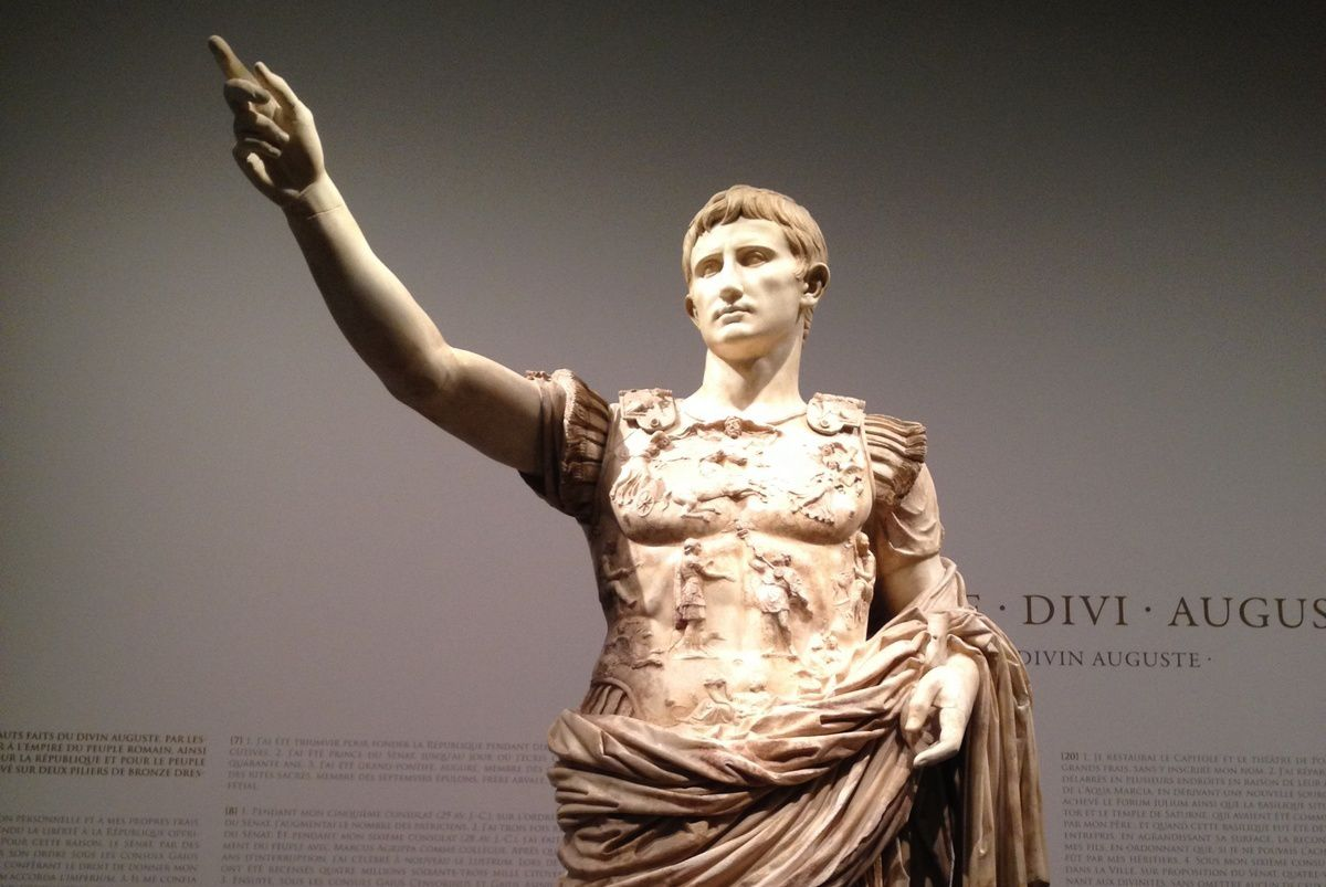 Moi Auguste empereur de Rome. Exposition au Grand Palais Paris - ONLAVU