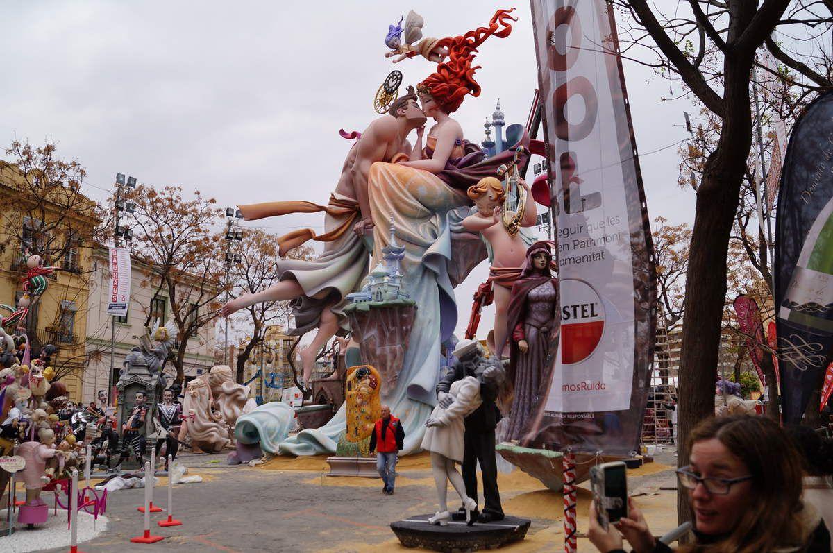 Les Fallas 2016 à Valence en Espagne - ONLAVU