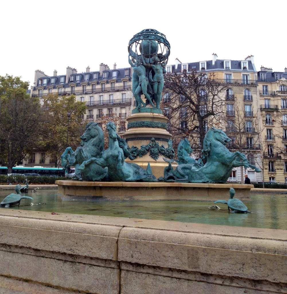 L'esplanade Gaston-Monnerville à Paris - ONLAVU