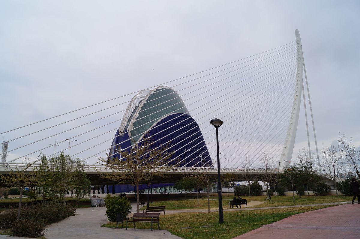ONLAVU -La Cité des Arts et des Sciences de Valence - Espagne