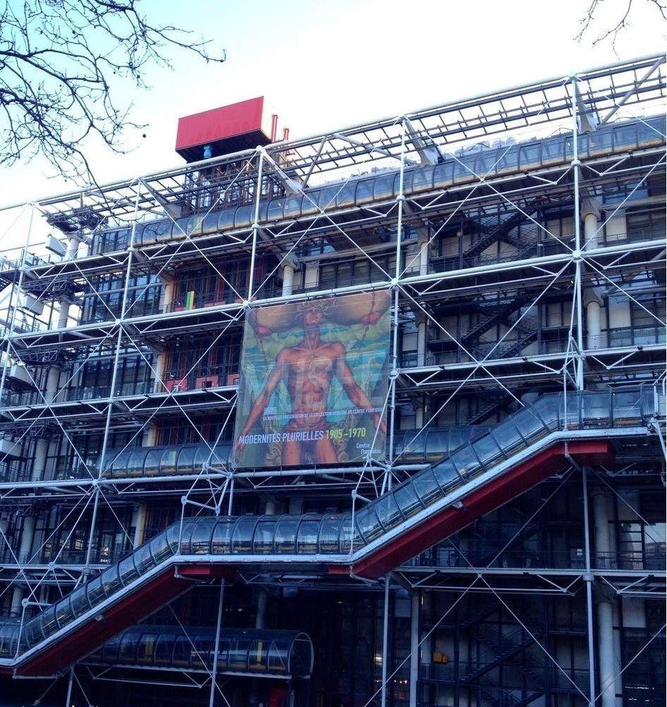 Centre Pompidou - ONLAVU
