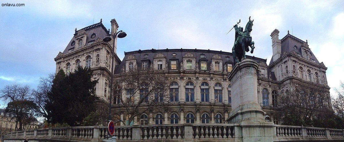 L'Hôtel de Ville de Paris - onlavu