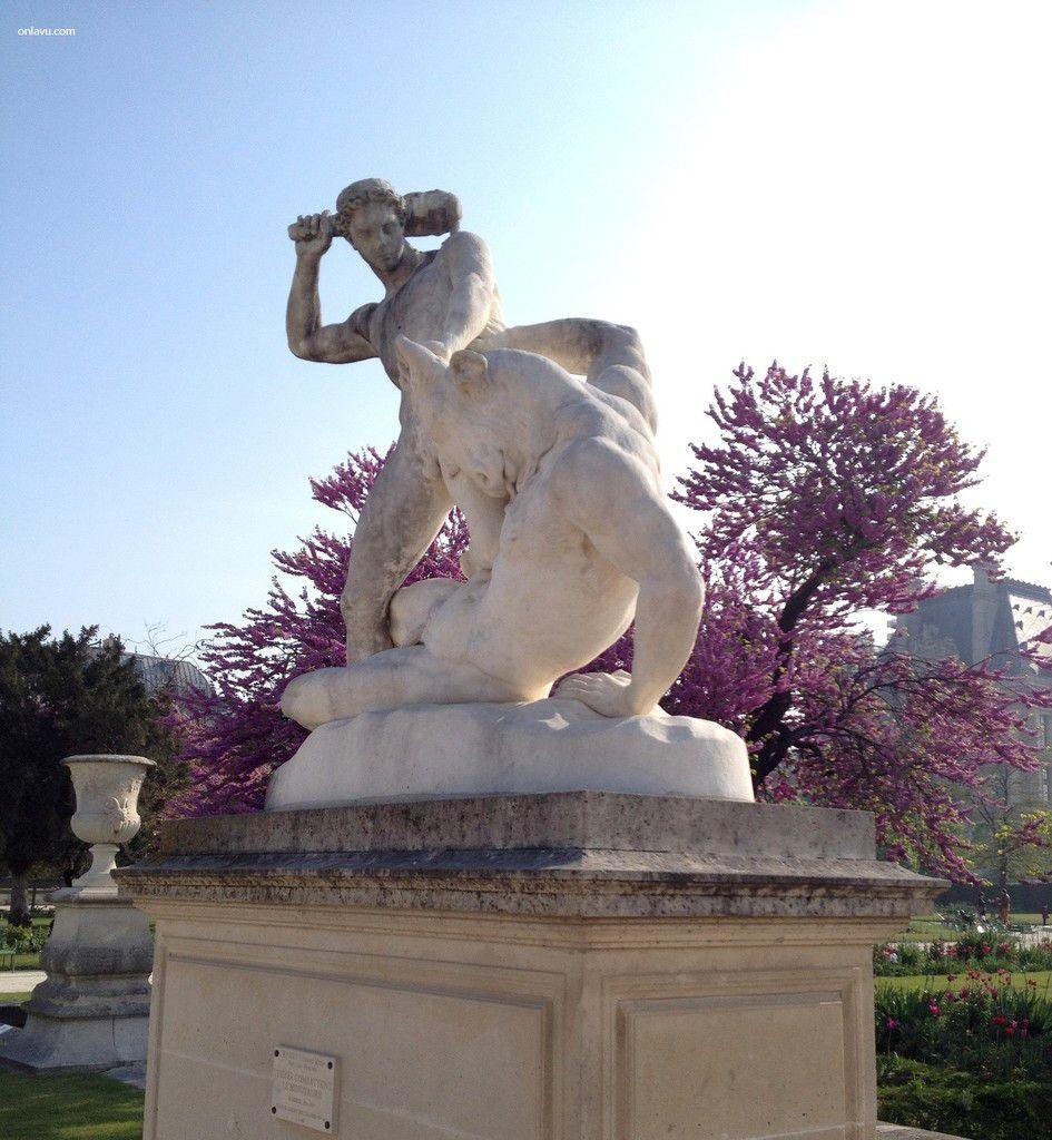 Le Jardins des Tuileries au Printemps