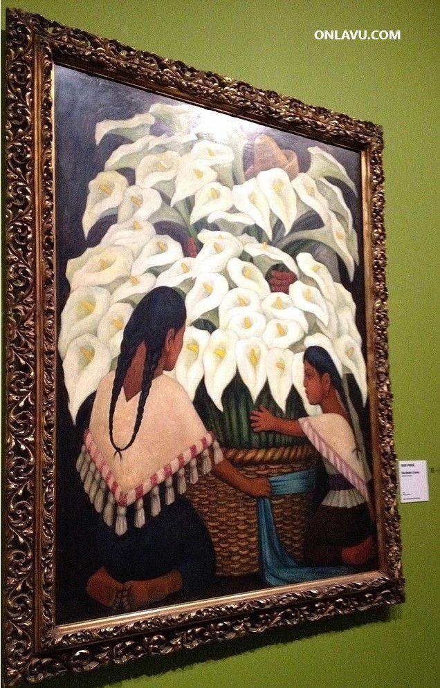Frida Kahlo eyt Diego Rivera à l'Orangerie