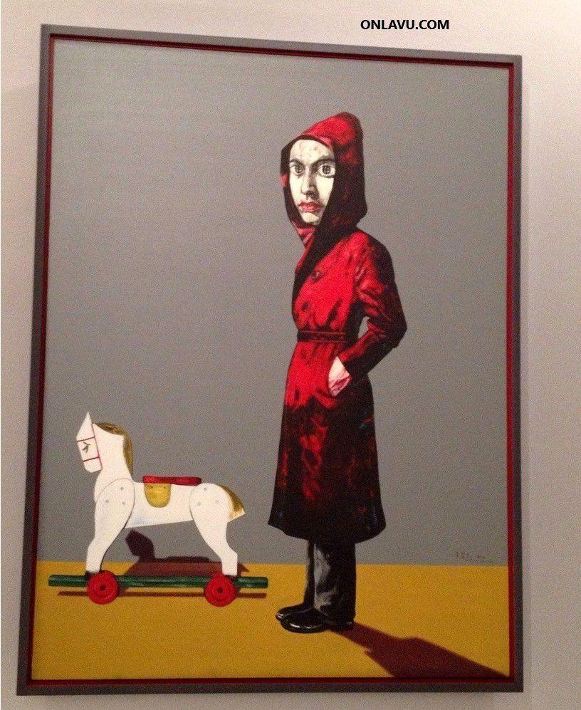 Musée d'Art Moderne - Zeng Fanzi - ONLAVU.COM