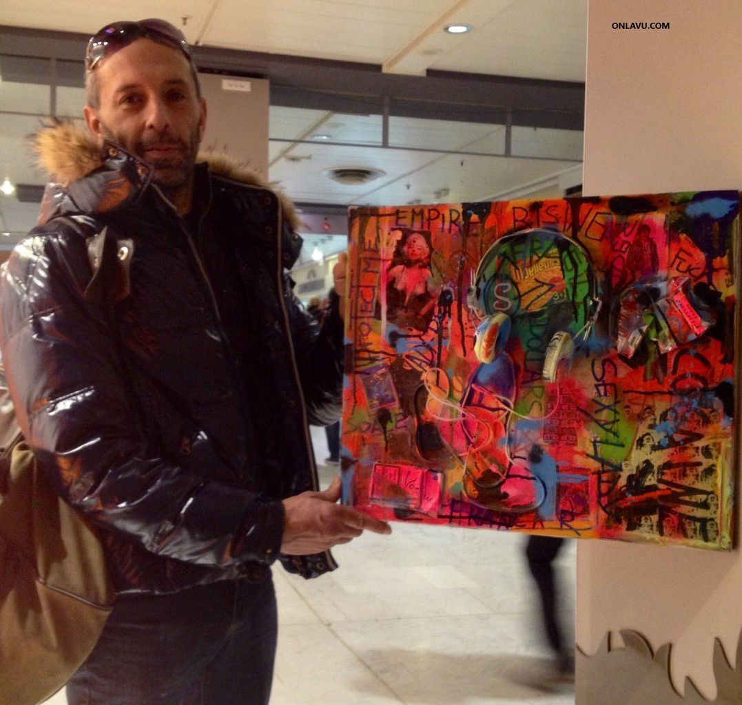 ONLAVU :Les artistes de rue, peintres, dessinateurs