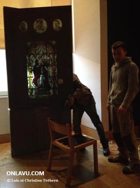 ONLAVU :Les artisans d'art du Louvre rencontrés lors de notre visite privée