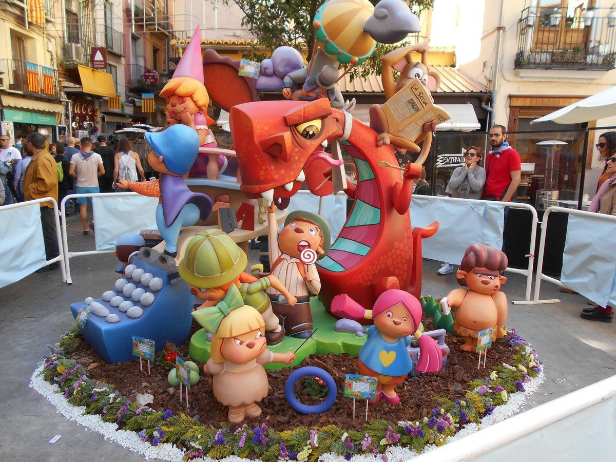 Fallas 2019 Valencia Espagne