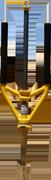 Le Medium SPLITZ-ALL de couleur jaune outil fendeur de buches de bois / Good N Useful