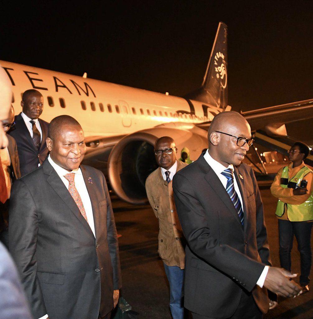 Le Président centrafricain en transit cette nuit au Burundi