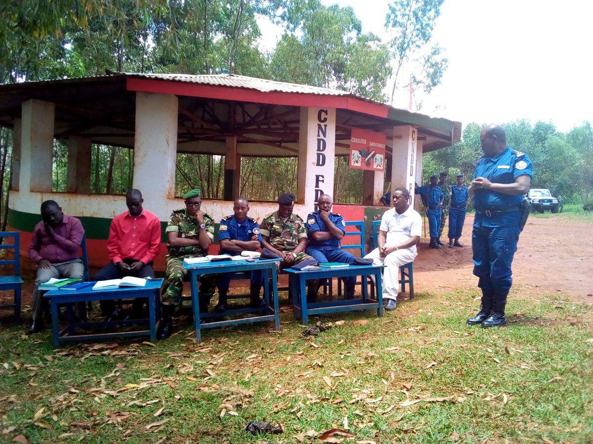 Insolite: Une réunion du Conseil Provincial de Sécurité se tient à la permanence du parti CNDD-FDD à Gitega