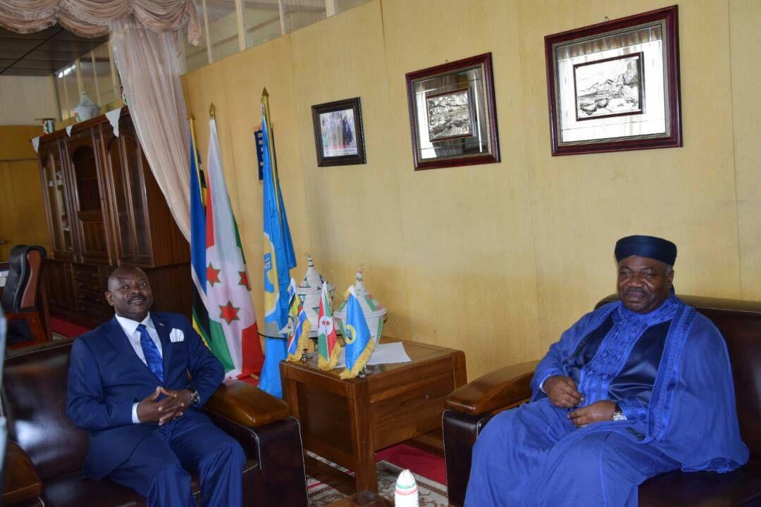 Visite du Président Gabonais au Burundi (en images)