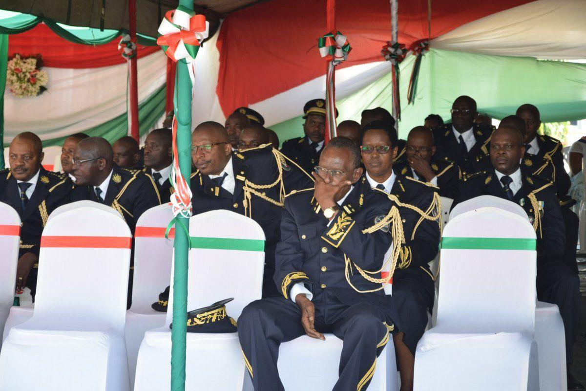 Cérémonies officielles du 56ème anniversaire de l'Indépendance du Burundi