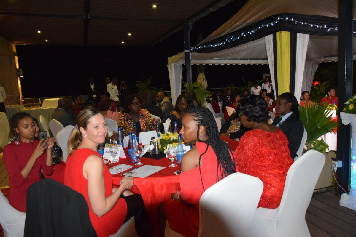 Accueil et dîner d'honneur aux invités d'honneur participants à la 1ère édition de la Conférence Internationale des femmes Leaders