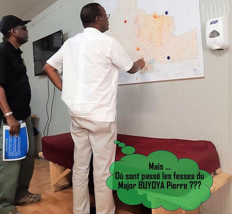L'image qui fait le buzz à Bujumbura: Les fesses du major ...