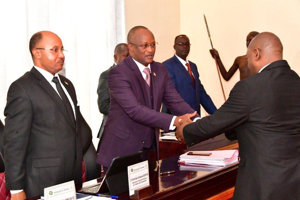 Conseil des ministres au palais présidentiel de Gitega ce mercredi 05 Juin 2019