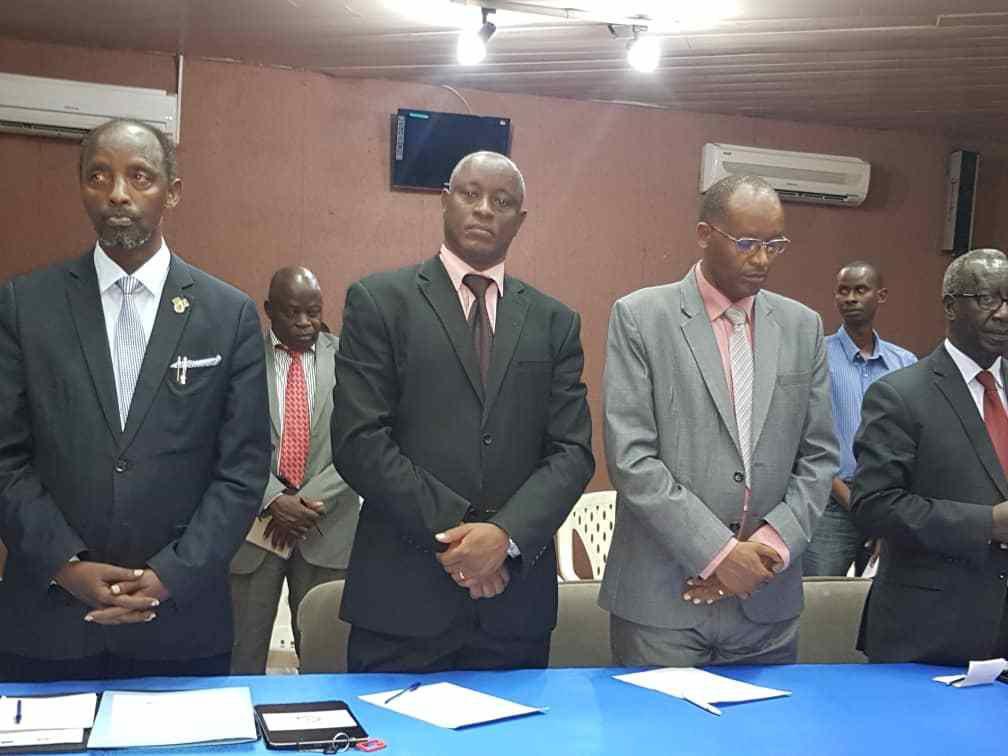 Déclaration signée le 22/08/2019 par les partis politiques et les gouverneurs