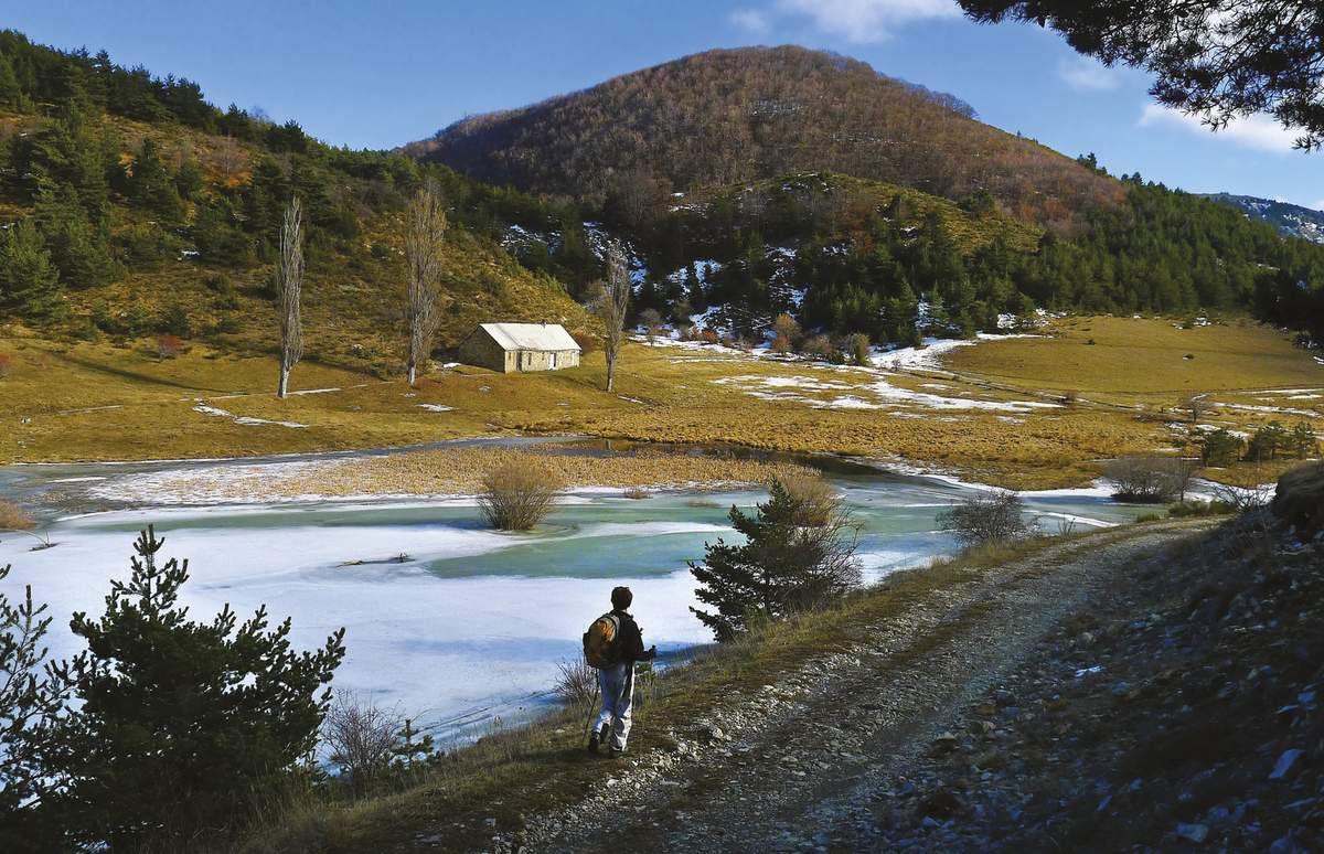 Le lac de Peyssier.