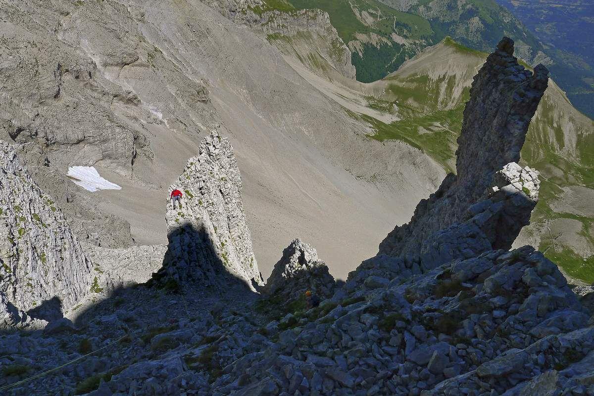 Vous le voyez, Pat de Gap, lézarder sur le rocher ?
