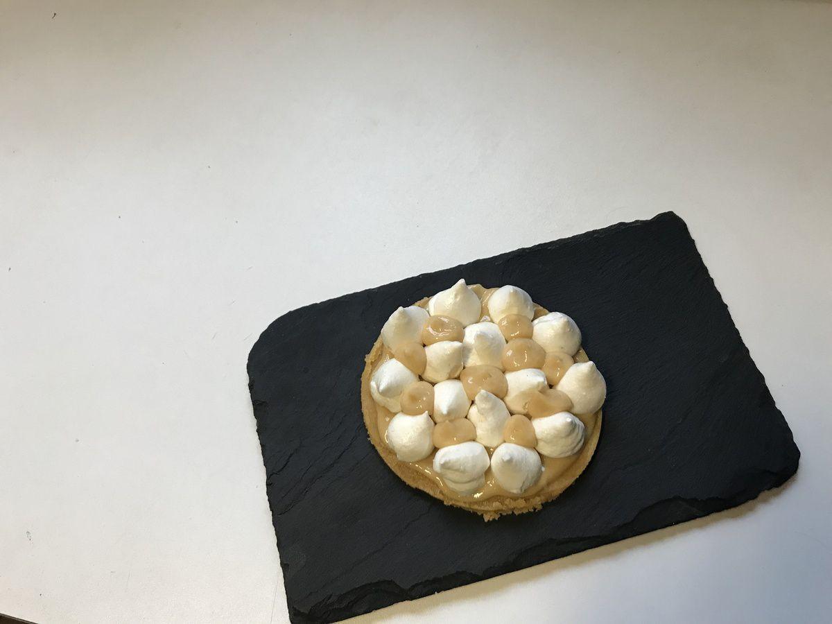 venez découvrir notre notre nouvelle pâtisserie: le tarte au citron meringuée