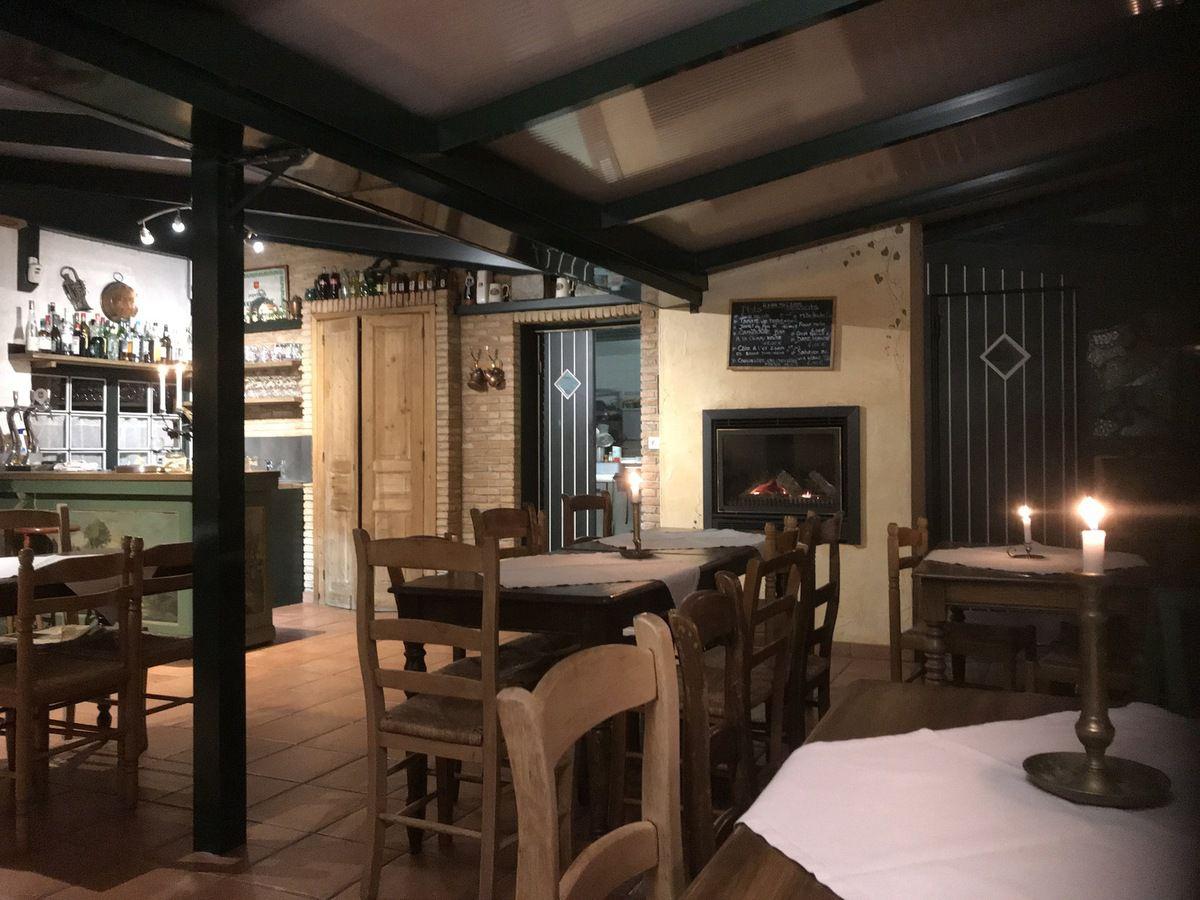 Venez profiter d'un bon repas chaud à la lueur de la bougie à l'auberge du thommelhof! ouvert du vendredi midi au dimanche soir