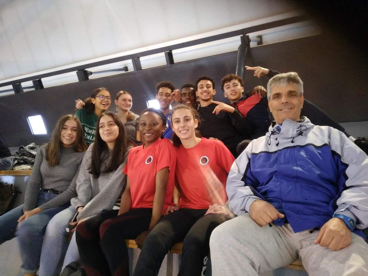 Très bons résultats de nos participants aux championnats départementaux en salle cadets / juniors/ espoirs / séniors