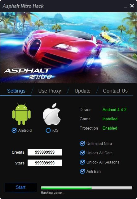 Asphalt Nitro Hack Cheats Online Get Unlimited Credits and