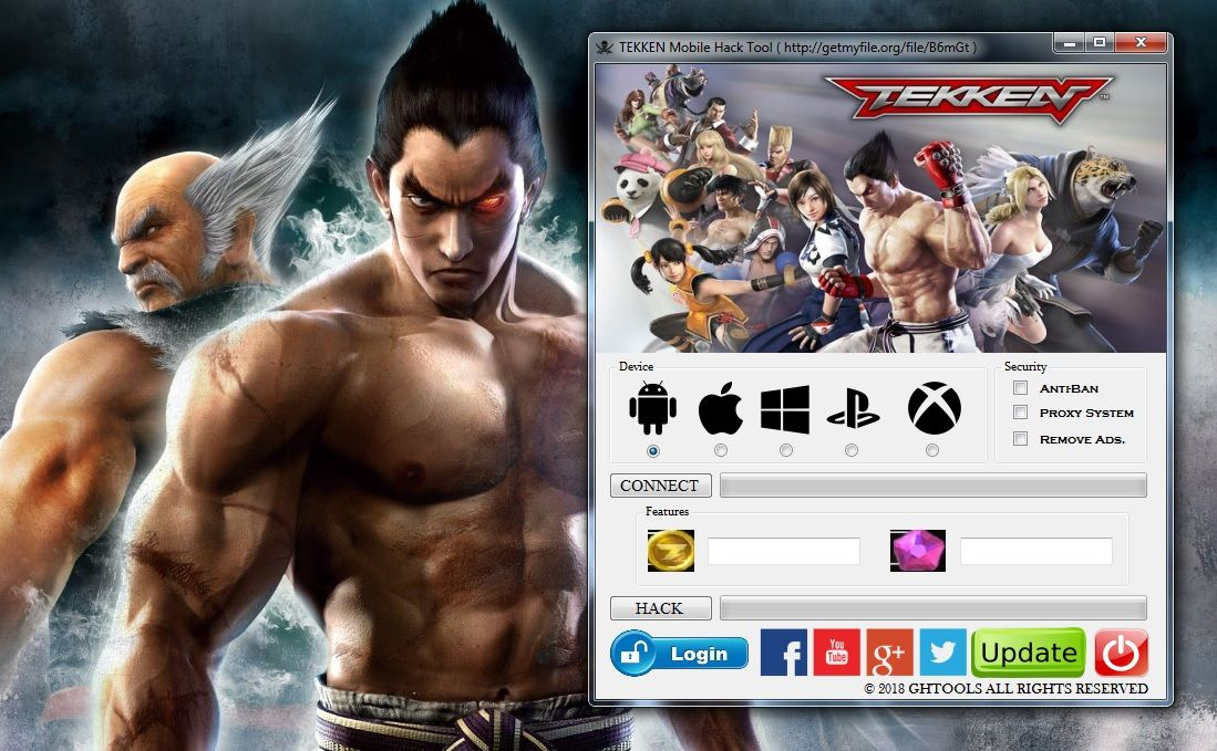 TEKKEN Mobile Hack Tool Generator 2018 Unlimited Gems