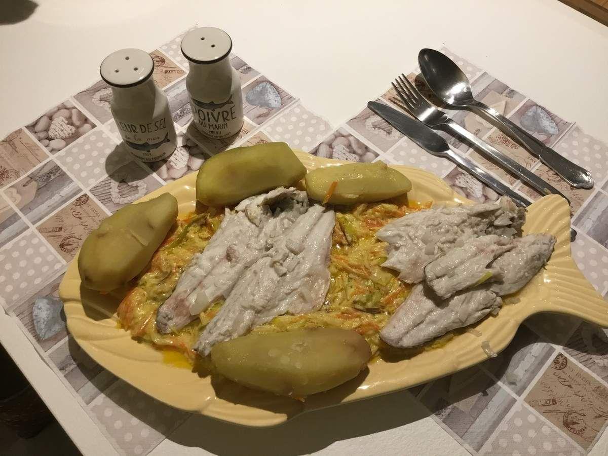 Filets de Daurade en Waterzoi