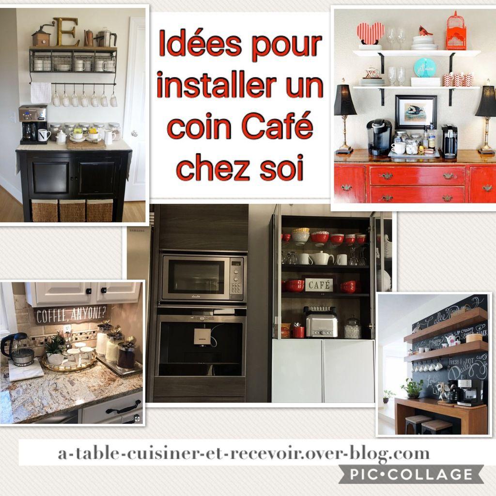 """Idées pour réaliser un coin """"café"""" chez soi"""