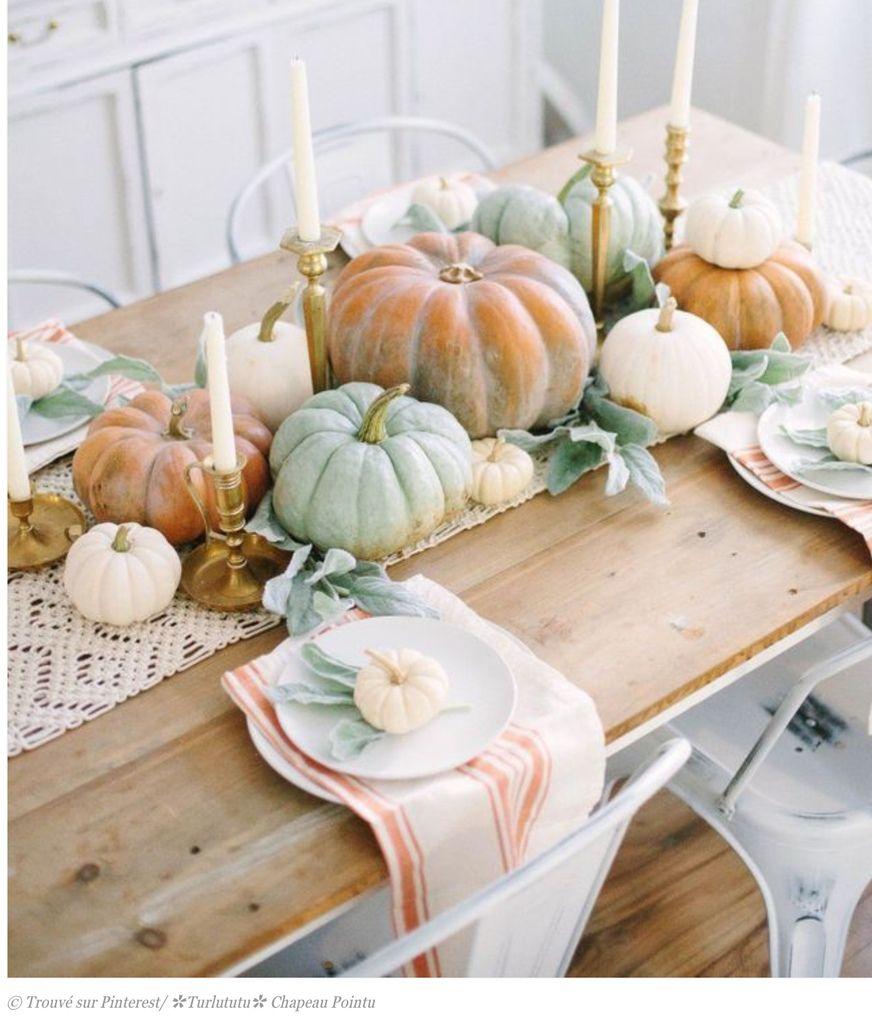 Tables douceur pastelle vert tendre et blanc