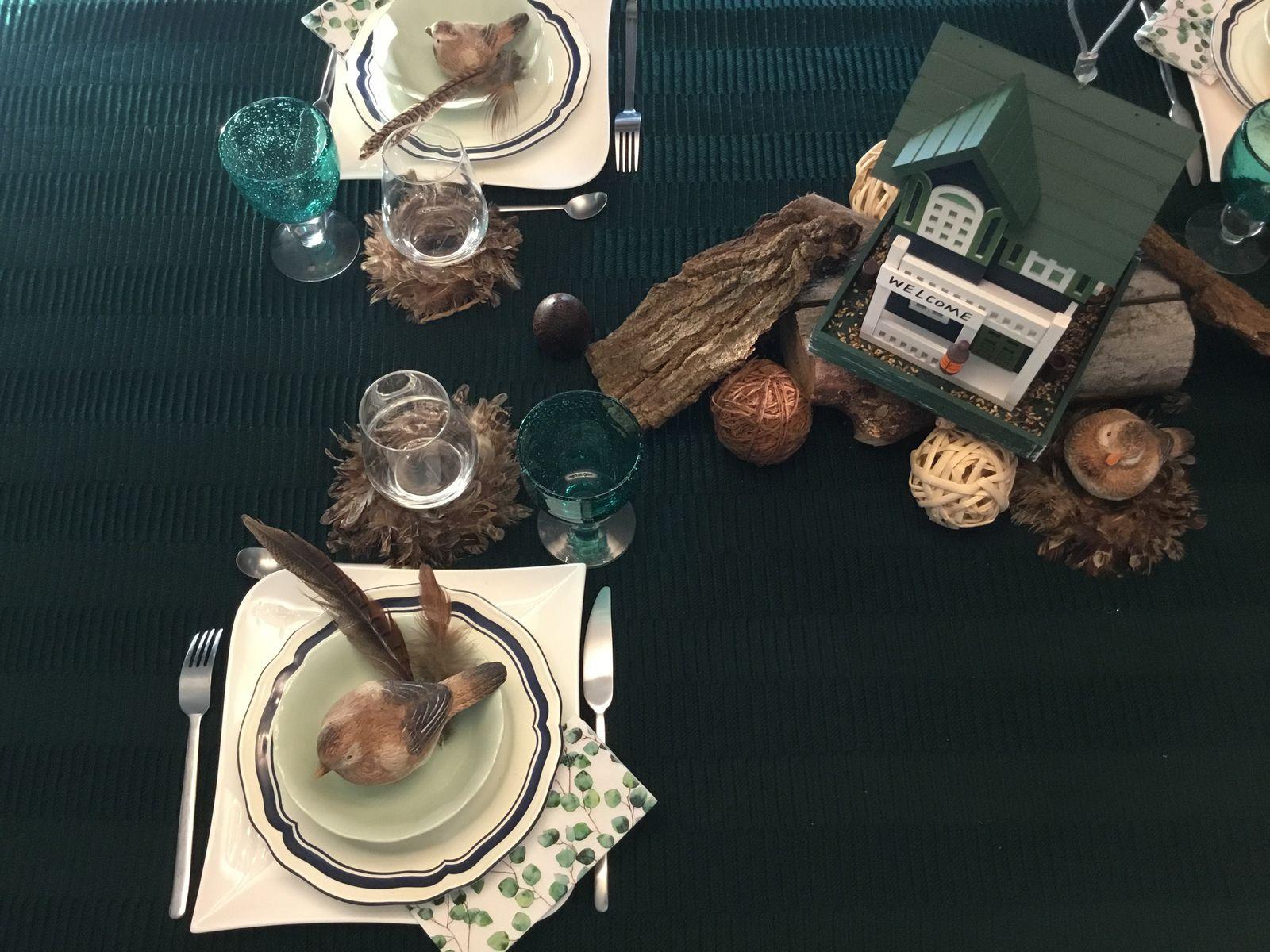 Restaurant gastronomique pour...oiseaux
