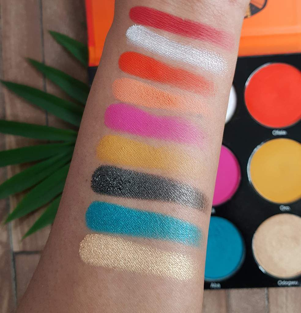 Swatch The Festival's Palette by Juvia's Place