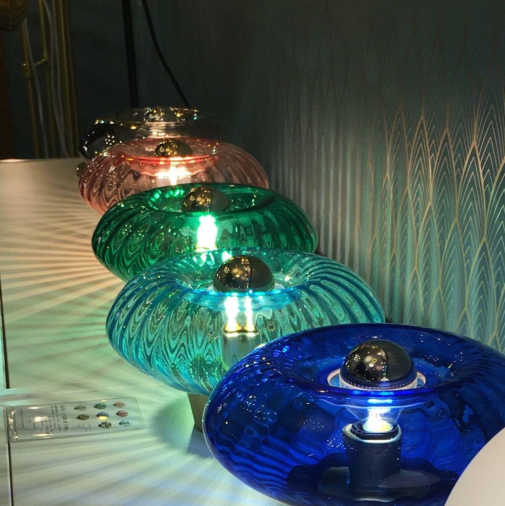 Lampe à poser Grace d'Elements Lighting en vente sur www.ComptoirElecEtDesign.com
