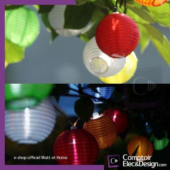 éclairage solaire Watt et Home sur Comptoir Elec et Design.com