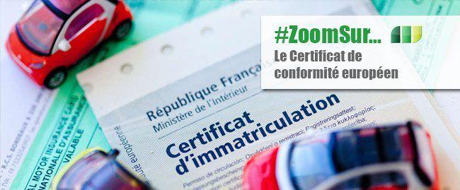 Le Certificat de Conformité Européenou COC