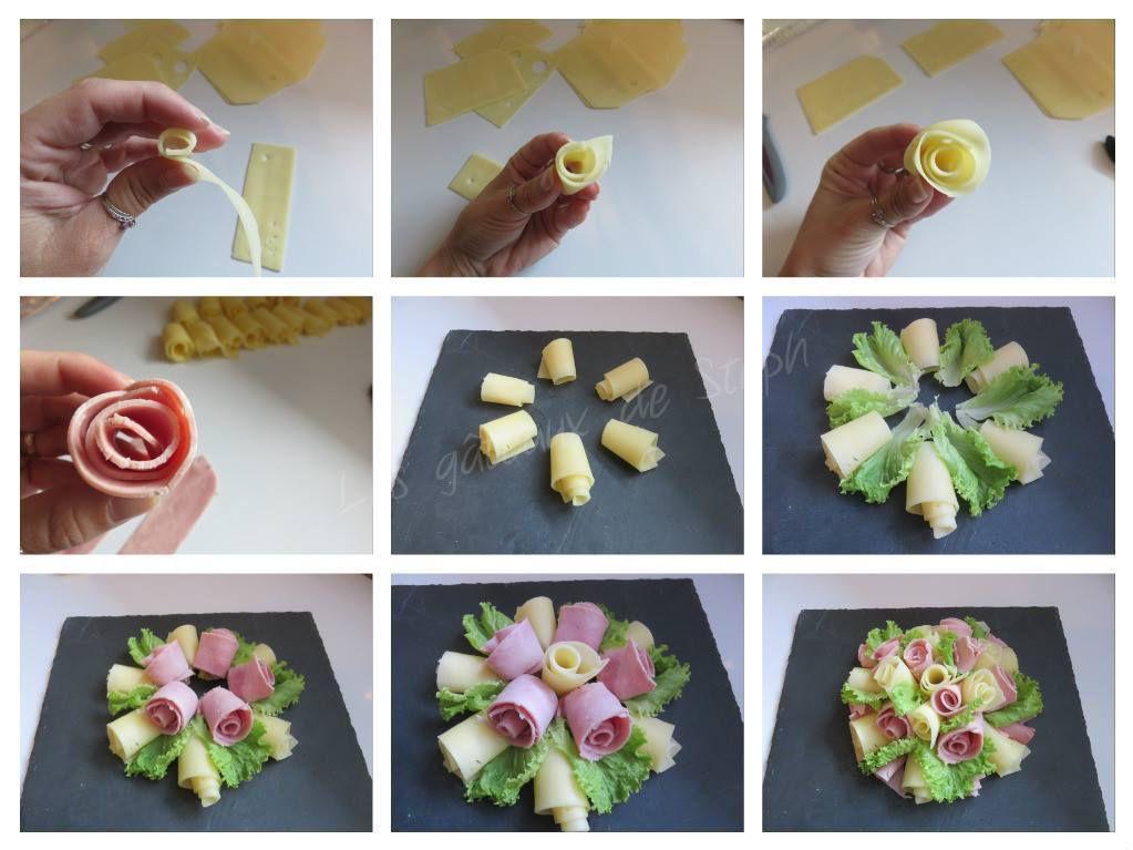 Bouquet jambon emmental