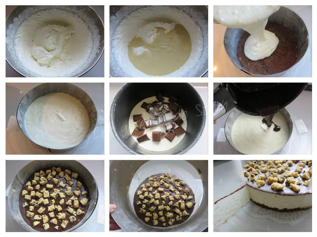 Bavarois vanille cookies