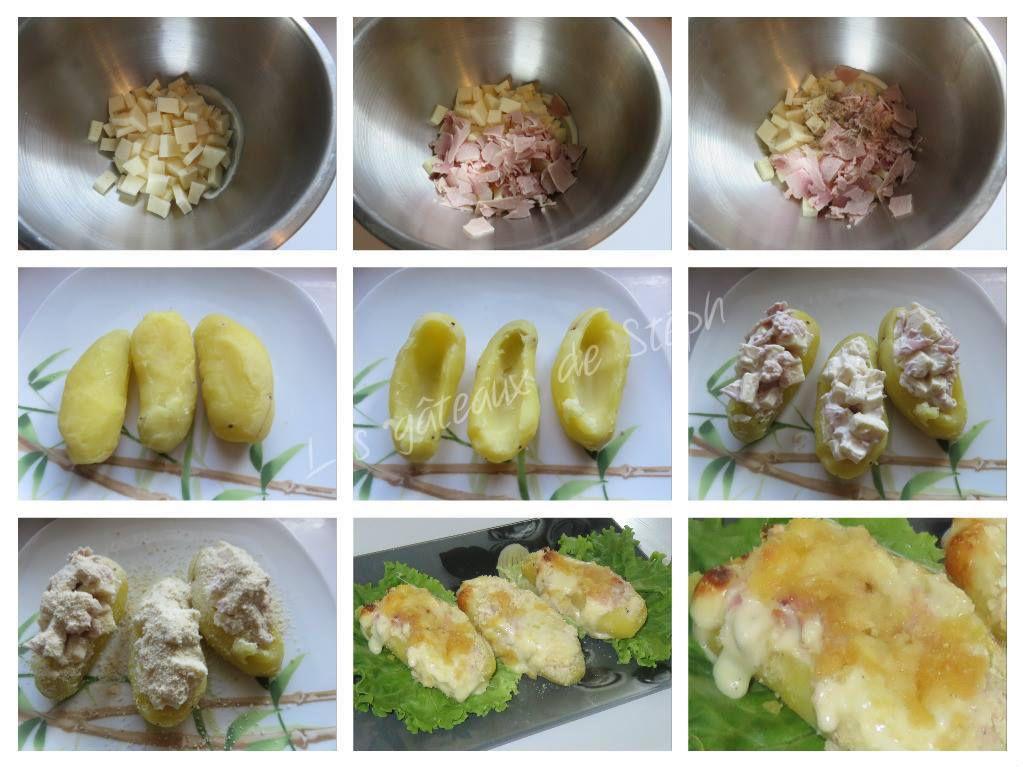 Pommes de terre panées à la raclette