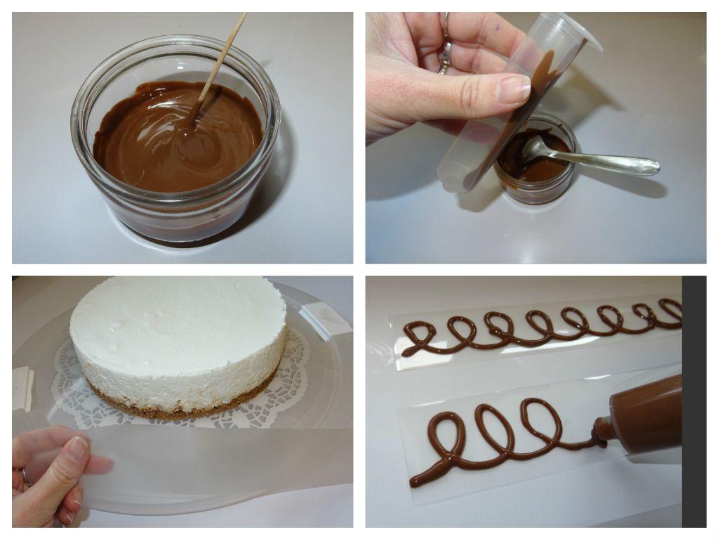 Tour de gâteau en chocolat