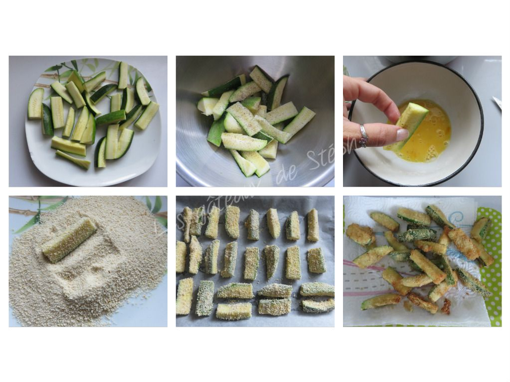 #courgette#frite#chapelure