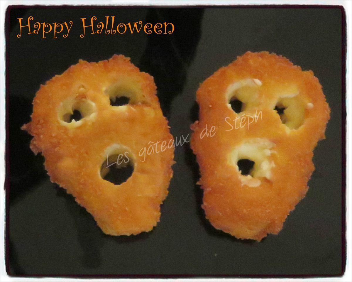 #halloween#pommedeterre#croquette#fantôme