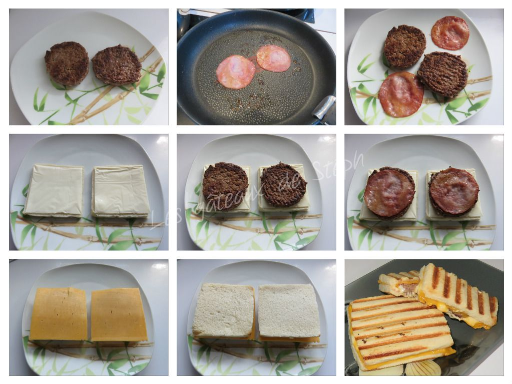 #croque#burger#cheddar