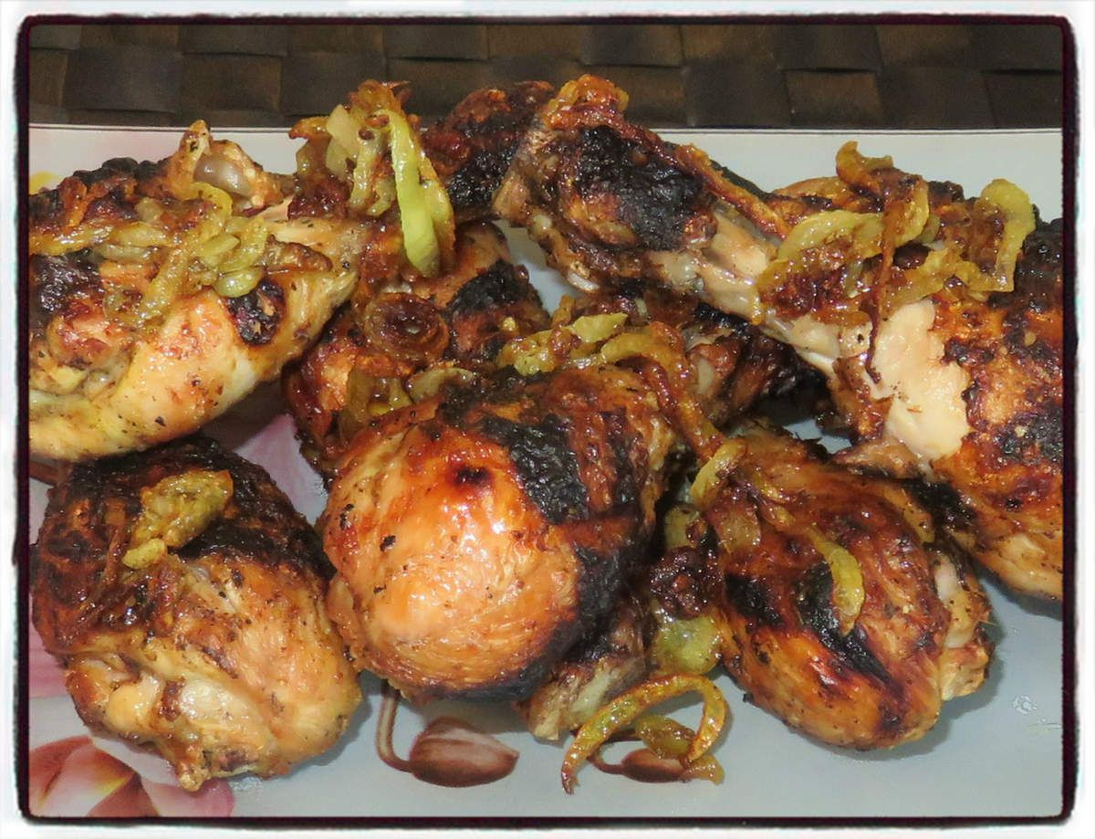 #poulet#curry#barbecue