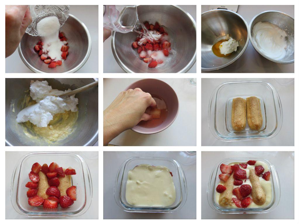 #tiramisu#fraise