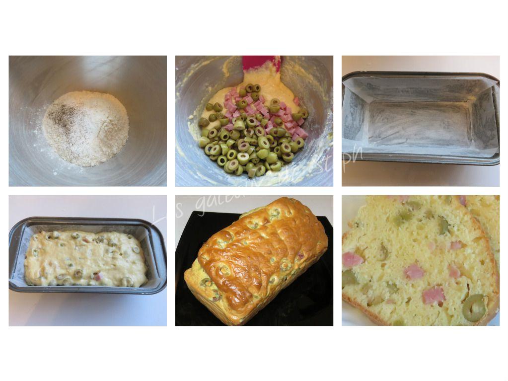 #cake#olive#jambon