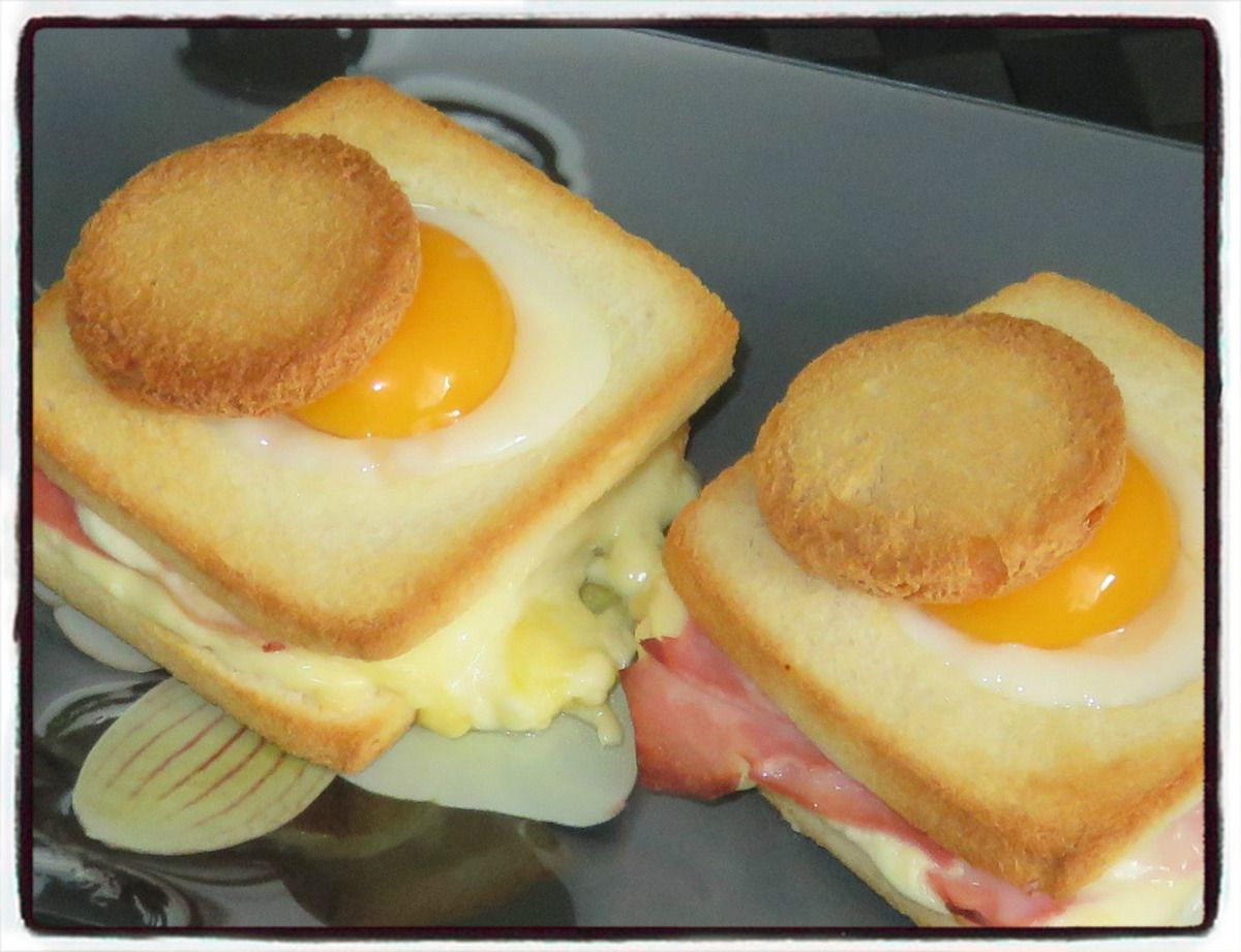 #croque#madame#raclette#oeuf
