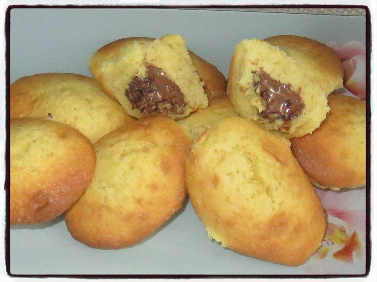 #madeleines#nutella