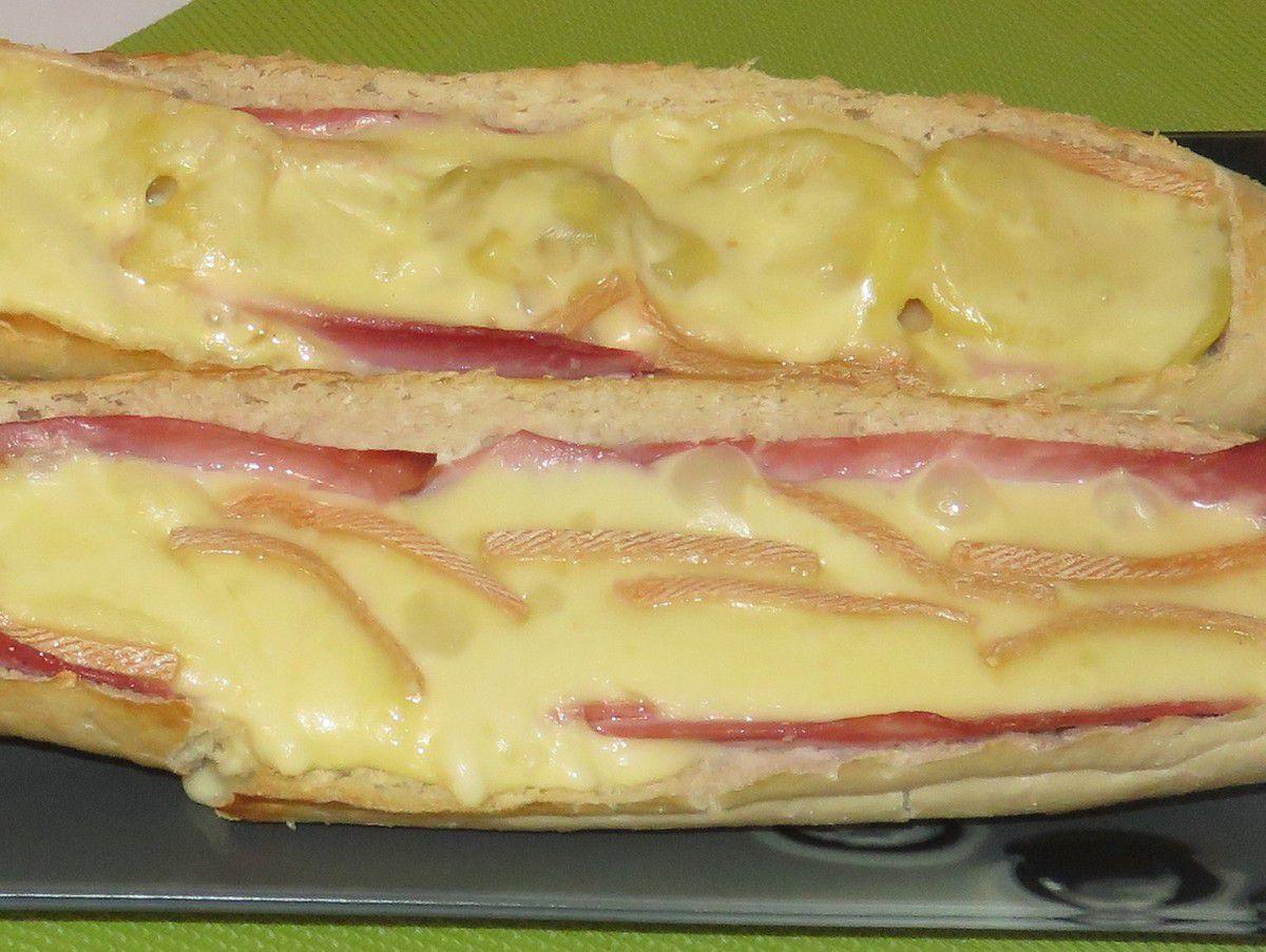 #pain#raclette#baguette#jambon