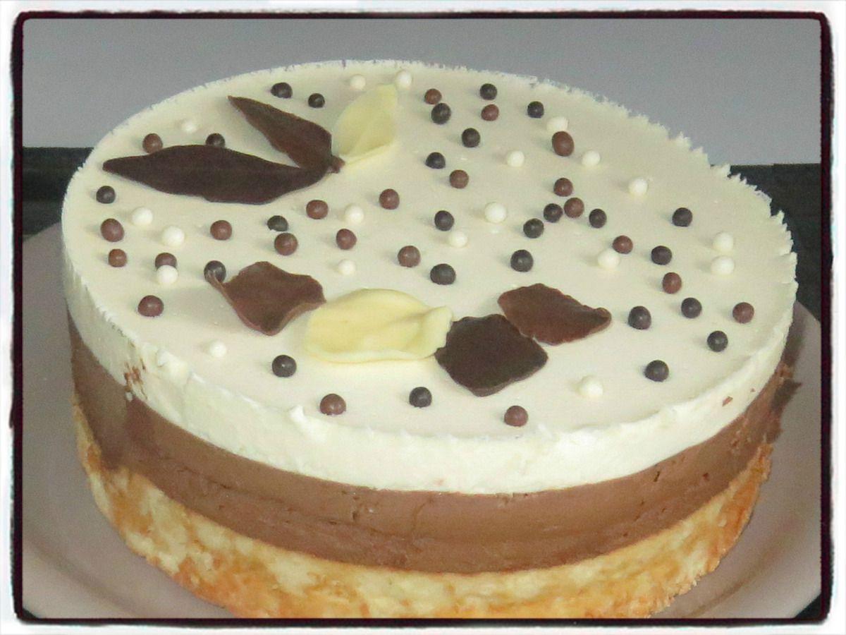 #bavarois#mousse#troischocolats